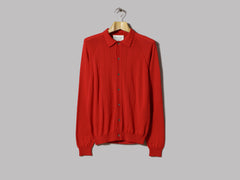 A Kind Of Guise Apio Knit Polo (Red)