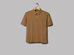 A Kind Of Guise Dumai Zip-Polo (Brown)
