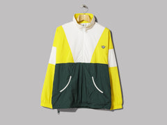adidas Track Top (Super Yellow / Core White / Green Night)