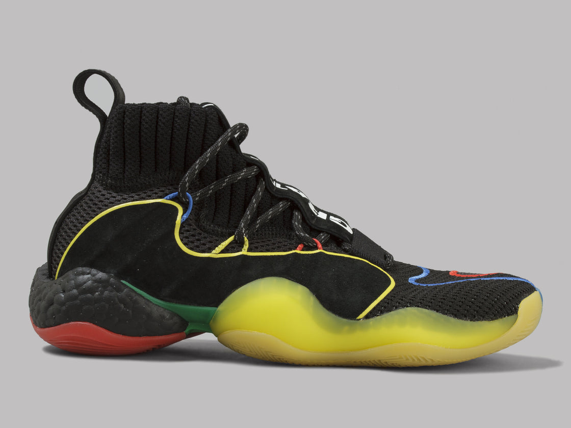 the latest 88d91 d8a7d adidas PW Crazy BYW LVL X (Black / Green/ Red / Blue / Yellow)