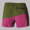 Aimé Leon Dore Zipper Pocket Shorts (Chive / Purple Tape)