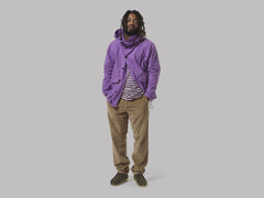 Albam GD Military Hooded Parka (Purple)