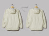And Wander 3L Light Rain Jacket (Off White)