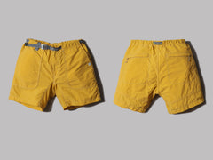 And Wander Nylon Climbing Short Pants (Yellow)