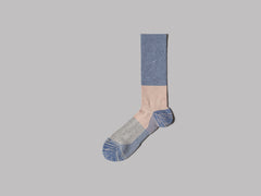 Anonymous Ism Moc Pile Crew Socks (Indigo)