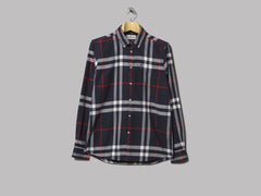 Barbour Highland Check 18 Tailored Shirt (Navy)