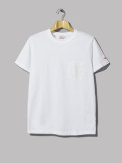 Battenwear Pocket Tee Shirt (White)