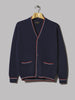 Beams Plus Line Cardigan (Navy)