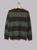 Beams Plus Wool Pile Crewneck Knit (Green)