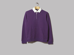 Beams Plus Cotton Rugby Shirt (Purple)