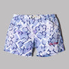 Best Company Leroy Volley Short (Blue / White Floral Print)