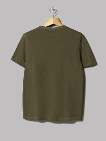 Champion Crewneck T-Shirt (Olive)