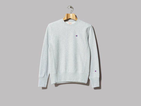 Champion Reverse Weave Crewneck Sweatshirt (Grey)