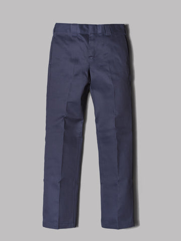 Dickies 873 Slim Straight Work Pants (Navy Blue)