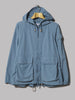 Engineered Garments Atlantic Parka (Light Blue Acrylic Coated Nylon Taffeta)