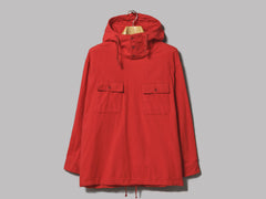 Engineered Garments Cagoule Shirt (Red Cotton Flannel)