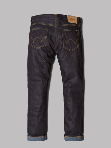 Edwin ED-55 Relaxed Tapered Jeans (Dry 11.8oz Deep Blue Denim)