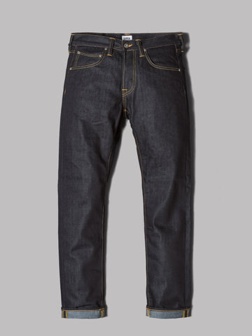 Edwin ED-80 Slim Tapered Jeans (Dry 11.8oz Deep Blue Denim)
