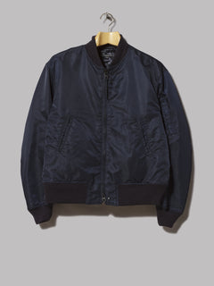 Engineered Garments Aviator Jacket (Olive Flight Satin Nylon)