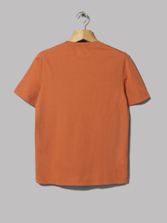 Folk Pleat Tee (Desert Orange)