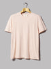 Folk Everyday Tee (Pink Melange)