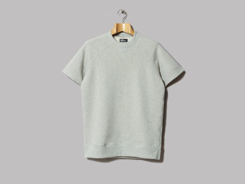 Good Measure M-16 Shirley Crabtree Short Sleeve Sweatshirt (Grey Marl)