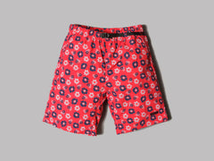 Gramicci Print Packable Shorts (Red Flower)