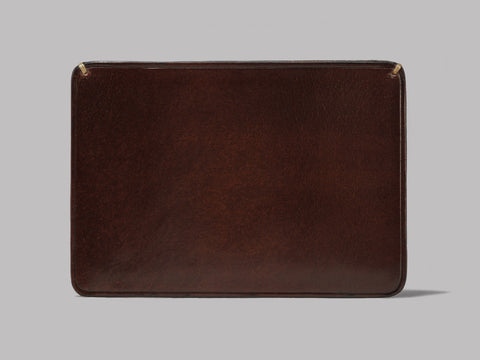 Il Bussetto Card Holder (Dark Brown Leather)