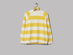 La Paz Cunha Sweatshirt (Yellow Stripes Terry Towel)