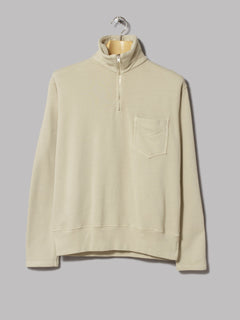 Lady White Co. 1/4 Zip Pocket Sweatshirt (Beige)