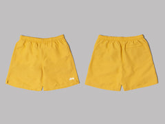 Stüssy Stock Water Shorts (Yellow)