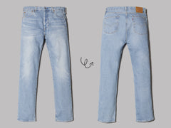 Levi's 501® '93 Straight Basil Castle Jeans (Medium Indigo)