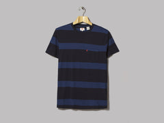 Levi's Set-In Sunset Pocket Tee (Dark Indigo / Medium Indigo)