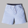 NN07 Jules Striped Swim Shorts (Blue Stripe)