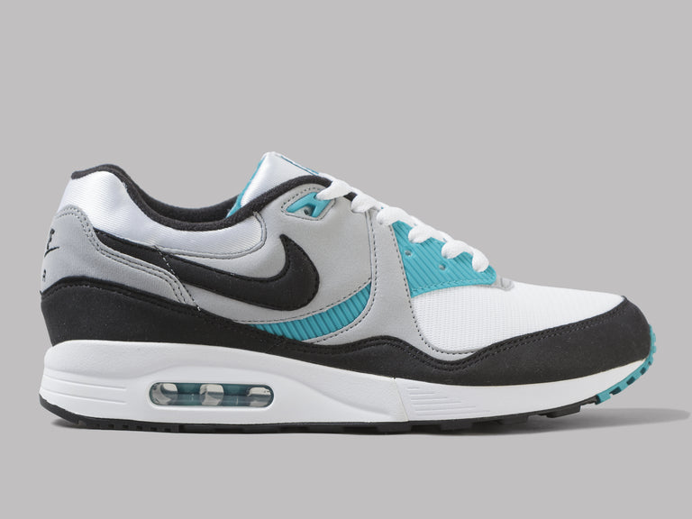 low priced 133c4 28243 Nike Air Max Light (White   Black   Wolf Grey   Spirit Teal) – Oi Polloi