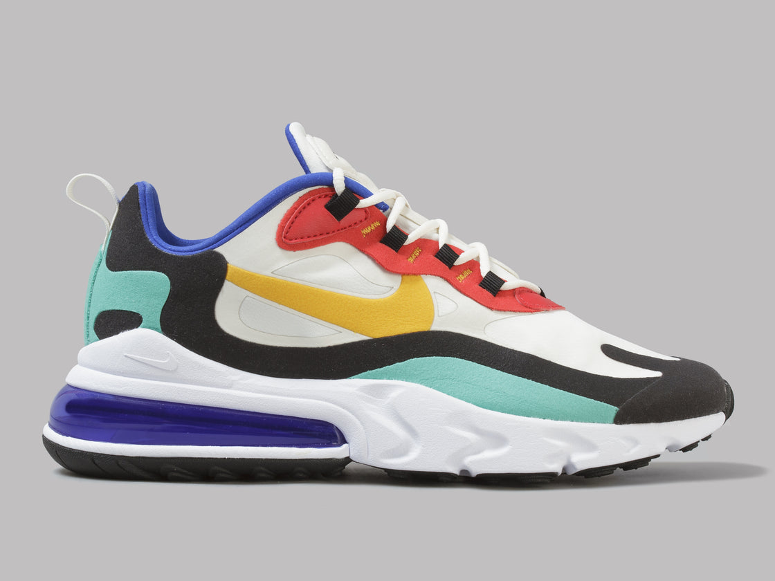 detailed look eba7f acb8a Nike Air Max 270 React (Phantom / University Gold / University Red)