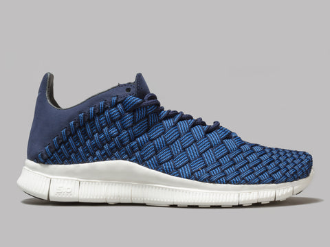Nike Free Inneva Woven (Fountain Blue / Summit White / Mid Navy)