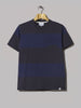 Norse Projects Johannes Block Stripe Tee (Navy)