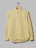 Norse Projects Osvald Linen Shirt (Yellow)