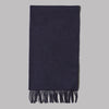 Johnstons of Elgin Oi Polloi Lambswool Scarf (Navy)