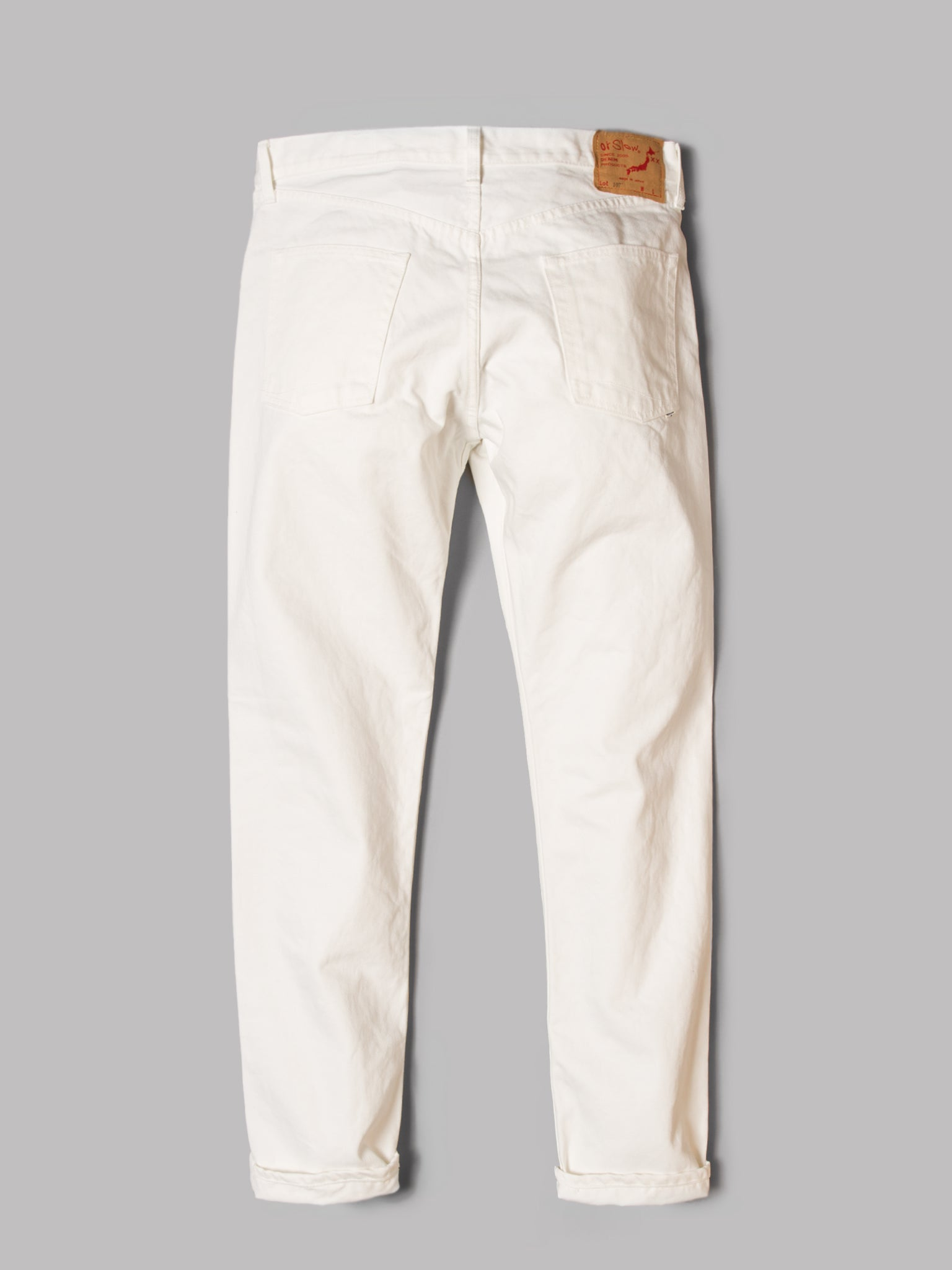 orSlow 107 Ivy Fit Jeans (White)