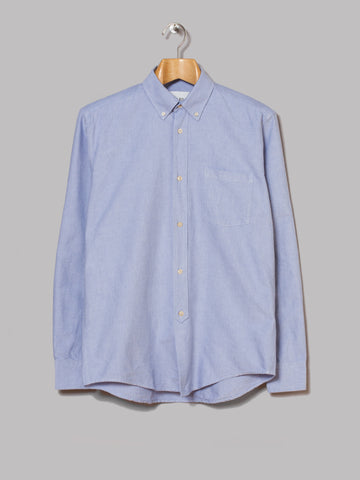 Our Legacy 1940s Button Down Shirt (Blue Oxford)