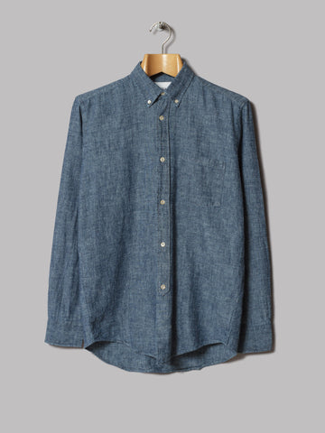 Our Legacy 1940s Button Down Shirt (Chambray)