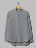 Our Legacy Shawl Zip Shirt (Steel Grey Silky Wash)