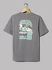 Patagonia Fed Up With Meltdown Responsibili Tee (Gravel Heather)