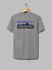 Patagonia P-6 Logo Responsibili-Tee (Gravel Heather Grey)