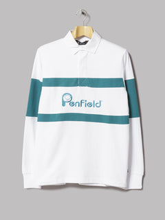 Penfield Cass Rugby Shirt (White)