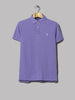 Polo Ralph Lauren Slim Fit Polo (Maidstone Purple Heather)