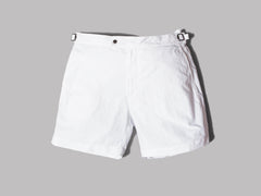 Polo Ralph Lauren Monaco Swim Shorts (Pure White)