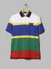 Polo Ralph Lauren Hi Tech Striped Polo (White Multi)